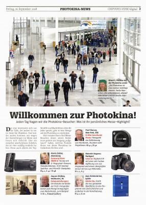 Willkommen zur Photokina!