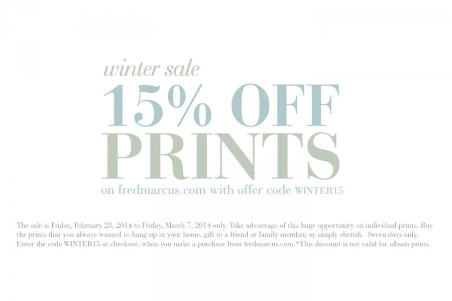 Winter Prints Sale