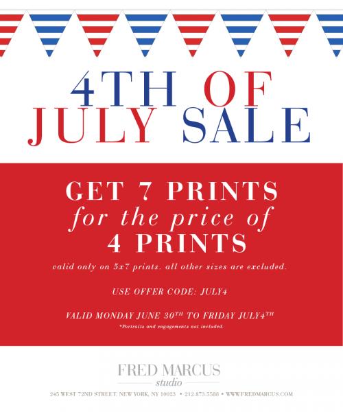 July 4th Sale!