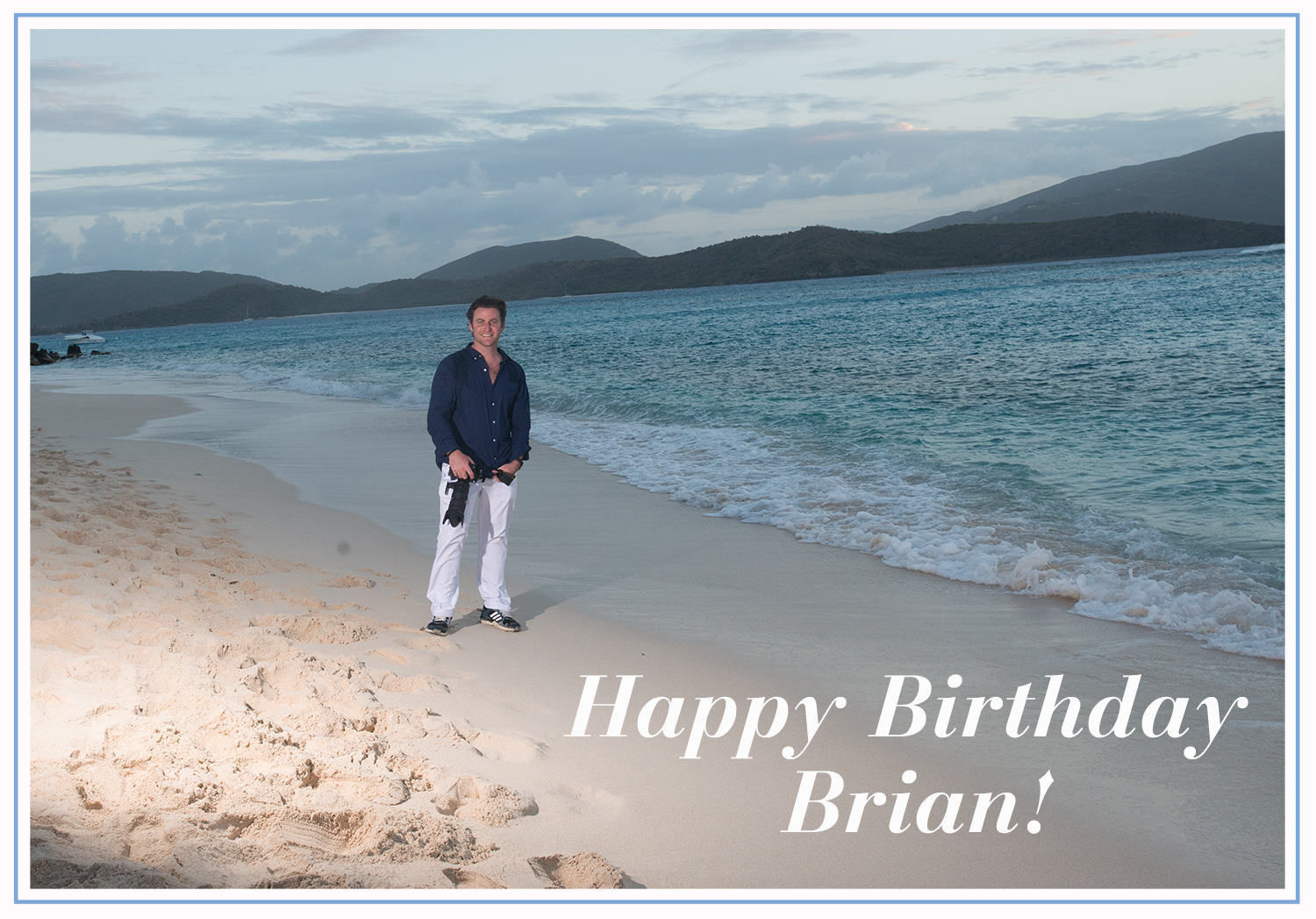 Happy Birthday Brian!