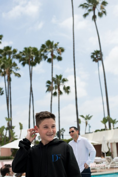 Drew's Fundraising Bar Mitzvah: Beverly Hills Hotel, CA