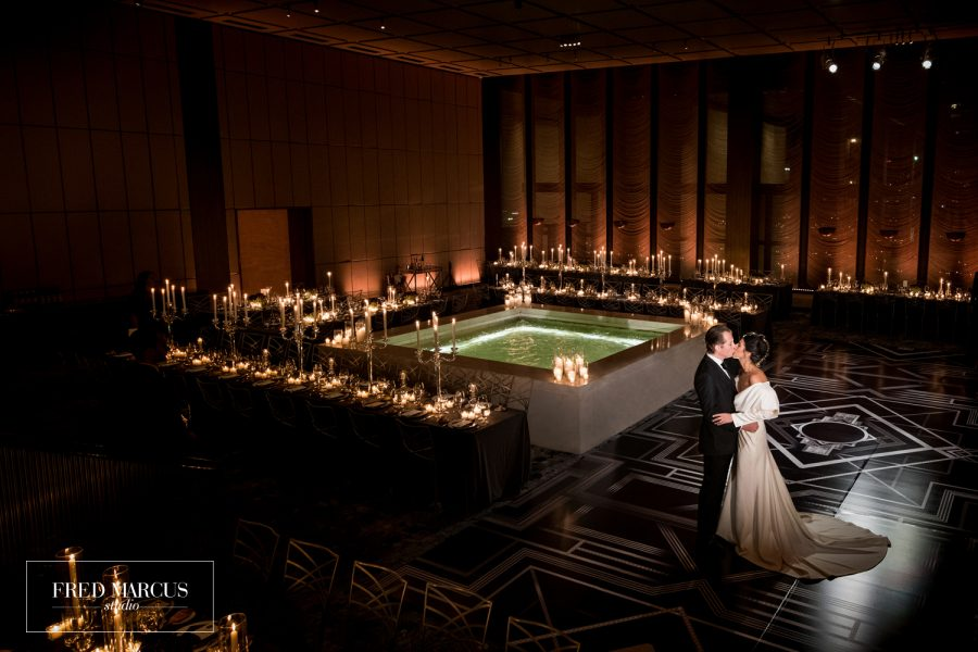 Stephanie & Jonathan: The Pool & The Grill – New York City